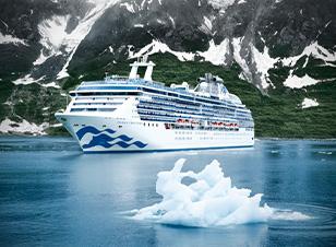 Crucero de vacaciones Alaska
